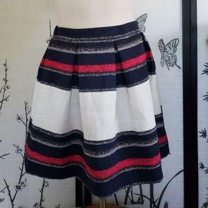 [Zara Basic] Pleated High Waist Mini Skirt